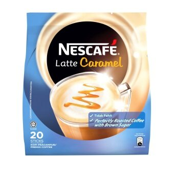 NESCAFE Latte Caramel, Premix Coffee, 25g x 20 sticks (EM)