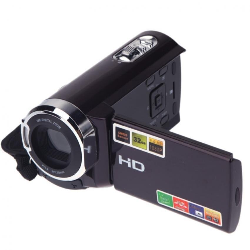 1080P 16x Zoom Full HD 20MP Interpolation Digital Video DVCameraCamcorder - intl