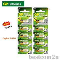 5PCS 23A ORIGINAL GP Alkaline Battery Remote Alarm 12V (Exp 2020) - Set of 2 Malaysia