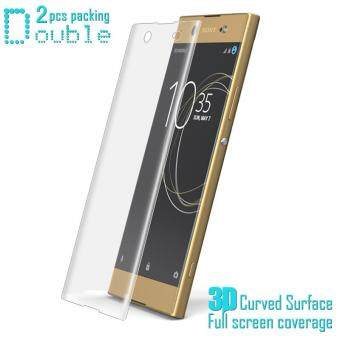 2Pcs IMAK for Sony Xperia XA1 Ultra 3D Curved Full Screen CoverageSoft Protector Film Explosion-proof