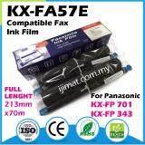 **2Rolls** Panasonic 57E /  KX-FA57E Compatible Fax Ink Film / Carbon / Ribbon For Panasonic 343 / 701 / KX-FP343 / KX-FP701ML Fax machine printer