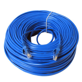 30m RJ45 Cat5 Ethernet LAN Network Ethernet Cable for PC InternetRouter Blue
