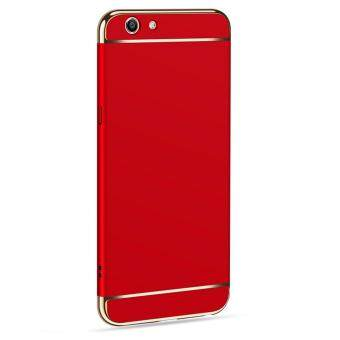 3in1 Ultra-thin Electroplated PC Back Cover Case for Vivo Y53