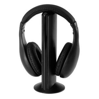 5 in 1 Radio Wireless Cordless Gaming Headphone Headset For PC TV