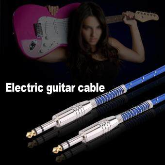 6.35mm Stereo Male To Male Audio Cable For Electric Guitar MixerMono/Stereo 5meters