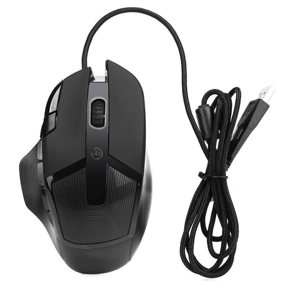 8-Key Wired Optical Professional Gaming Mouse Mice with Colorful LED Light 112497431261