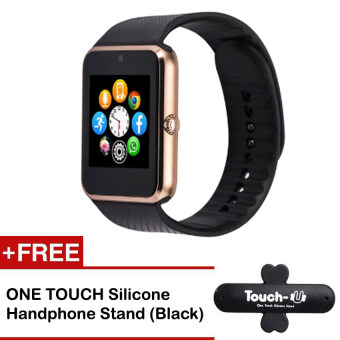 A1 Bluetooth Smart Watch Sim Card Apple Android Phone Call Camera(Gold)