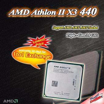 AMD Athlon II X3 440 3core 3.0 ghz AM3 CPU / Processor (Refurbished)