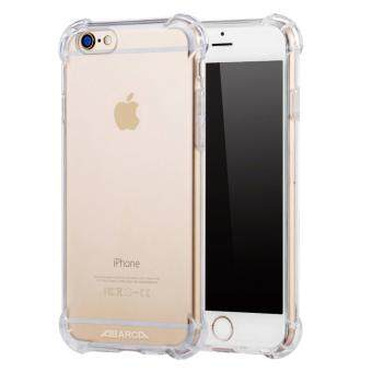 Anti-shock Silicone TPU back cover case for Apple iPhone 6S Plus/ 6Plus (Transparent)