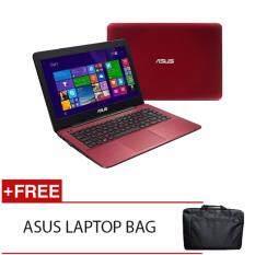 ASUS X441U-VWX160T I3-6006U 4GD3 1TB NV920MX 2GD5 WIN10H (RED) FREE ASUS LAPTOP BAG Malaysia