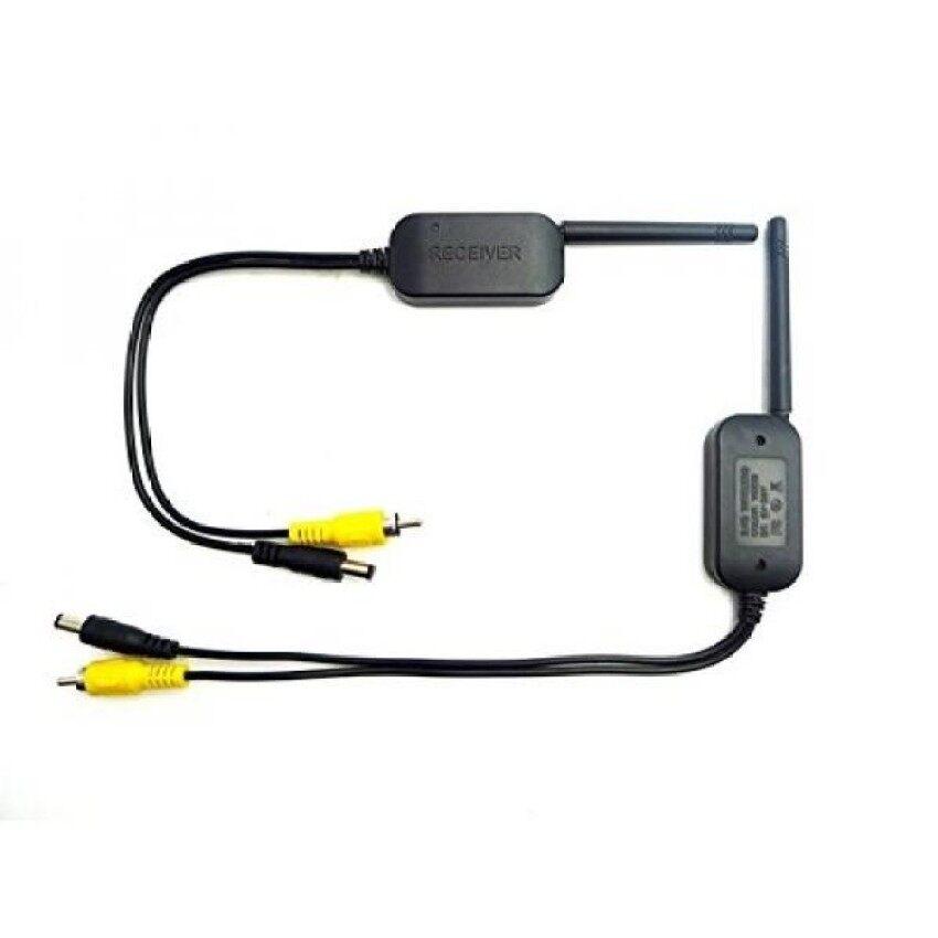 Cadangan Kamera/Kamera Mobil Depan 2.4G 0.2 W Big Power Video Nirkabel Transmitter & Receiver untuk 12 V /24 V Kendaraan Accfly-Intl