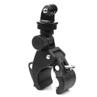 Bike Bicycle Motorcycle Handlebar Clamp Mount for Gopro Hero 5 4 3 SJCAM Eken Yi 4K Camera Holder Clip Go Pro Cycling Accessory