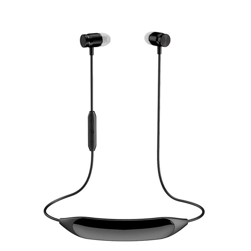 Bluetooth Headphones V4.1 Sport Massage Stereo Noise CancellingSweatproof Headset with Mic for Ipad PC Iphone and Other BluetoothDevices - intl