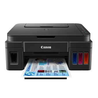 Canon Pixma G3000 With Original Ink Tank System Wifi Original Ciss 3In1