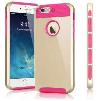 Case Cover for Apple iPhone 5 5s Hard Plastic Back Cover i5 i6 i7Mobile Phone Case(Pink)