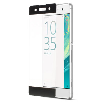 Complete Covering Tempered Glass Screen Guard Anti-explosion SonyXperia XA / XA Dual - Grey