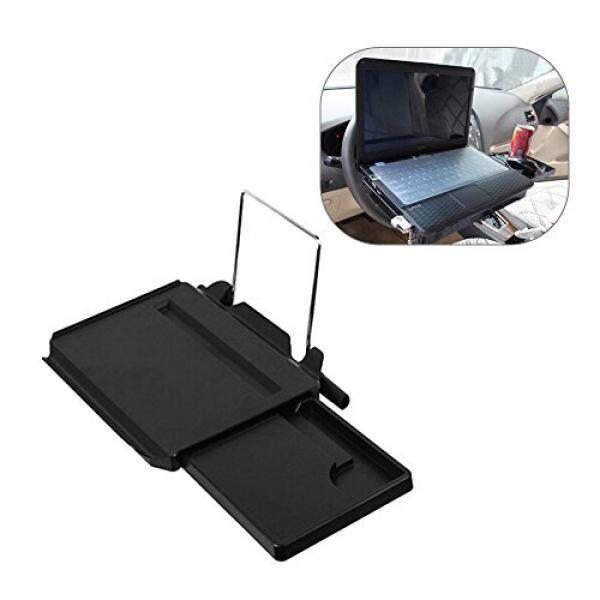 Coocheer Meja Laptop Mobil, Multi Fungsional Mobil Pengemudian Roda Meja Portabel Lipat Otomatis Kursi Belakang Dudukan Tray, nutrisi & Hiburan Cangkir Penahan-Kenyamanan-Internasional