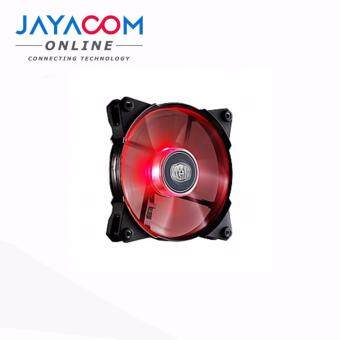 COOLER MASTER JETFLO 120 12CM COOLING FAN RED