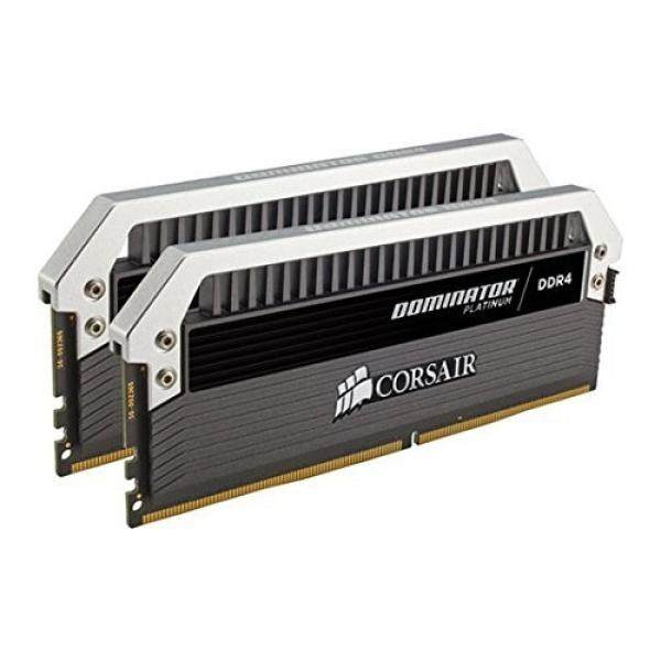 Corsair Dominator Platinum Series 16GB (2 x 8GB) DDR4 DRAM 3200MHz (PC4-25600) C16 Memory Kit - intl