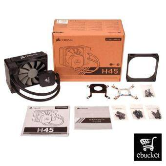 CORSAIR H45 120 mm Hydro Series All-In-One Liquid CPU Cooler - Black