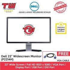 Dell P2214H IPS 22 Screen LED Monitor (Factory Refurbished) Malaysia