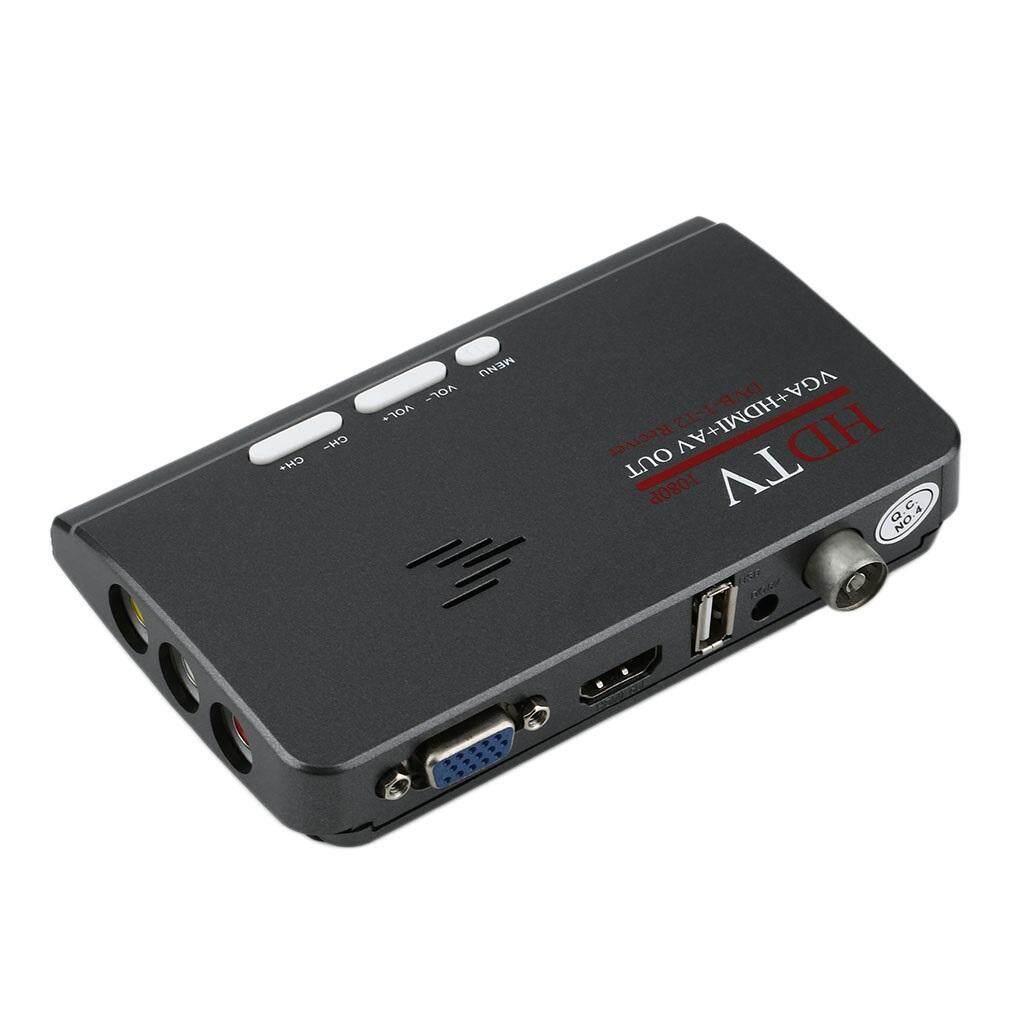 Digital Terrestrial HDMI 1080P DVB-T/T2 TV Box VGA AV CVBS Tuner Receiver - intl