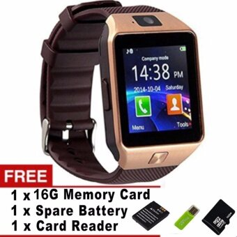 DZ09 Bluetooth Smart Watch Sim insert Anti-lost Call Reminder for Android IOS