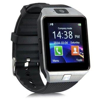 DZ09 Bluetooth Smart Watch Wristwatch with Camera Sync to AndroidIOS Smart Phone Sim Card Function Camera Memory Card Function(Black)