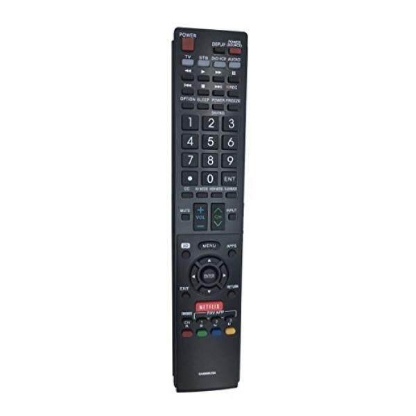 econtrolly GA890WJSA New Replaced Remote Fits for Sharp Aquos TV Remote Control GB004WJSA GA935WJSA GB005WJSA - intl
