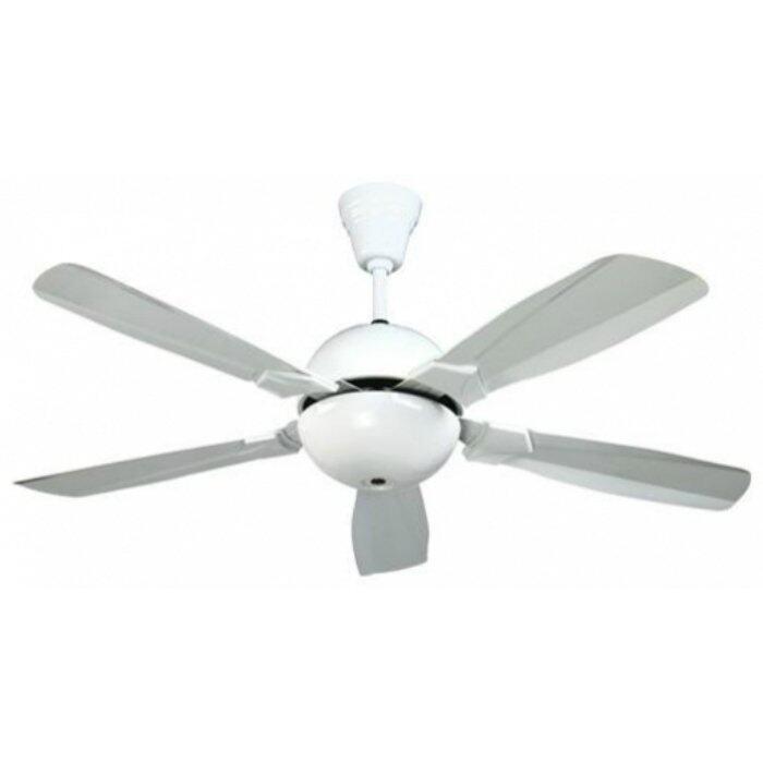 DEKA IFan Q 5 Blades White 56 Remote Control Ceiling Fan