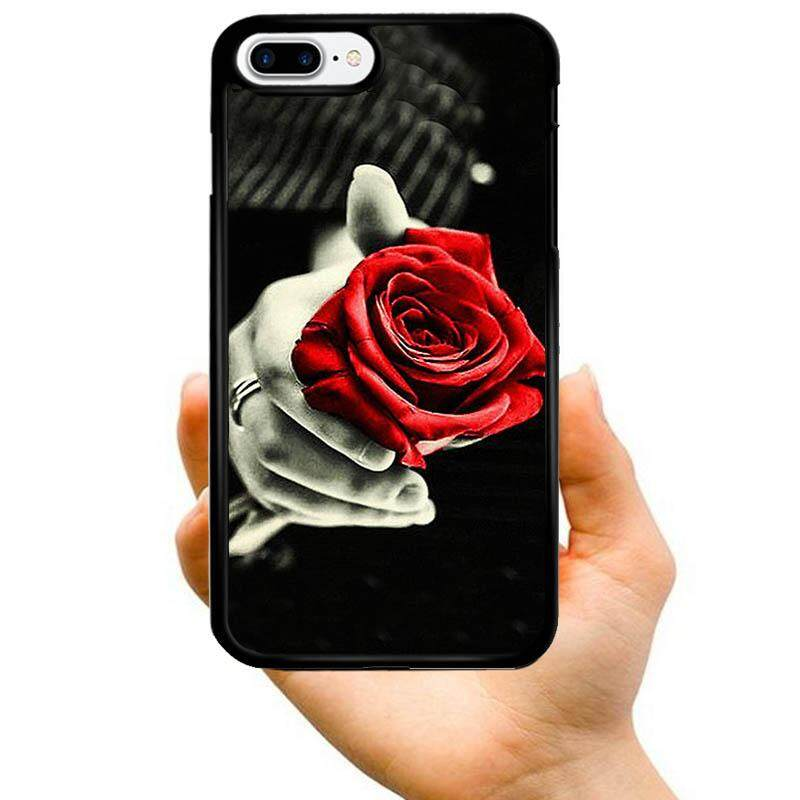 Fashion Hot Sale Cool hand with a red rose flower Creative Pattern PC Hard Plastic Phone Case For Sony Xperia Z2 - intl