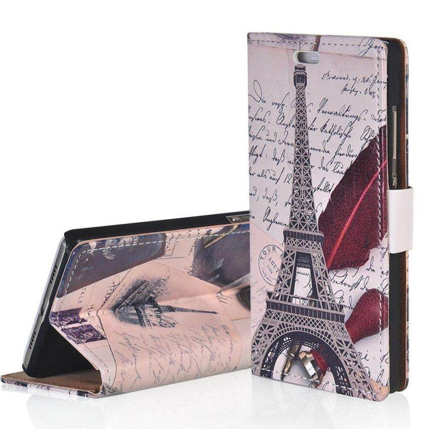 Windcase Flip Leather Case Cover for Acer Liquid X2 Pattern Series Wallet Card Slots Kickstand Cover (As Shown)
