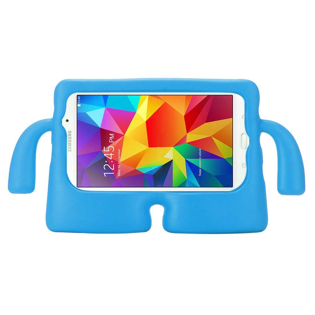 For Samsung Galaxy Tab 4 7.0 / T230 & Tab 3 Kids / Lite / T111 Universal Small Person TV Model EVA Bumper Protective Case(Blue) - intl
