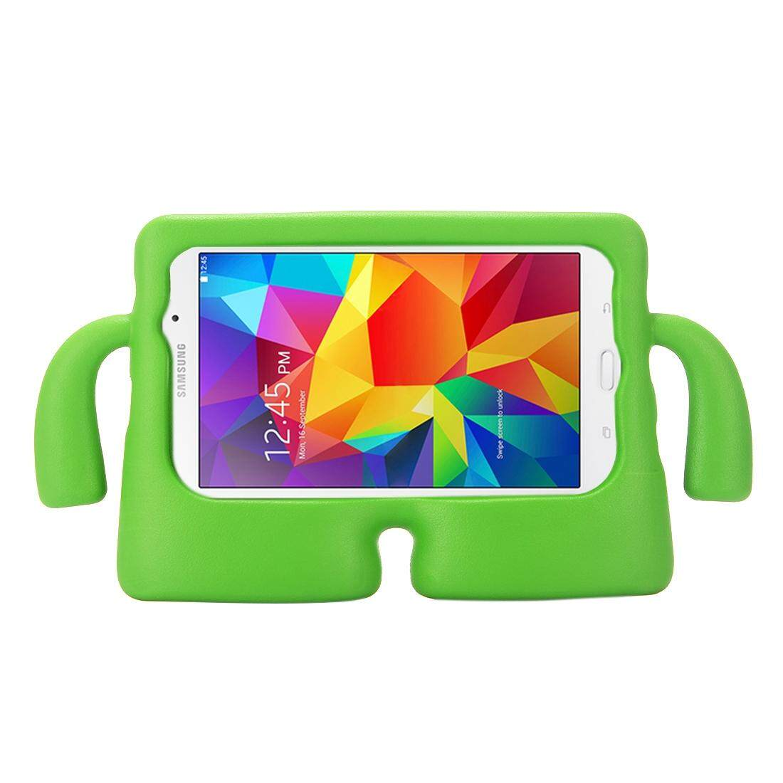 For Samsung Galaxy Tab 4 7.0 / T230 & Tab 3 Kids / Lite / T111 Universal Small Person TV Model EVA Bumper Protective Case(Green) - intl
