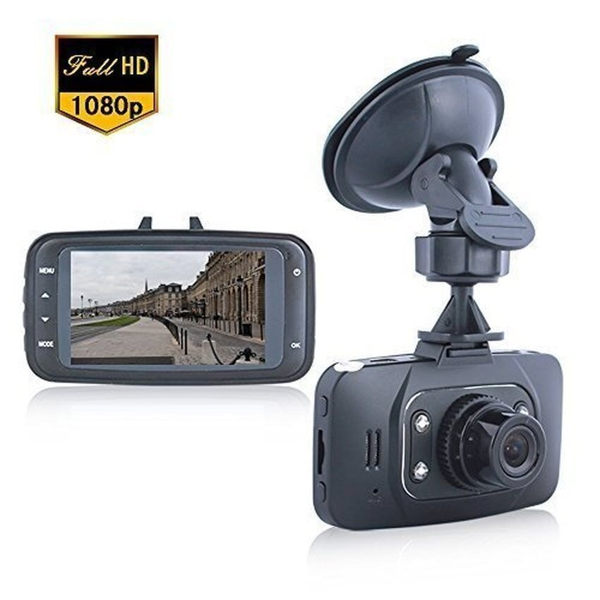 Full HD 1080P Car DVR / 2.7 120 Degree / HDMI CamcorderVehicleCamera with Night Vision and Motion Detection / G-Sensor/Supporting TF Card (Up to 32 GB) / Black - intl