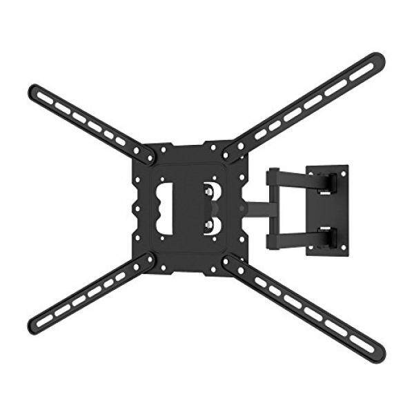 Full Motion TV Wall Mount Bracket Tilt Swivel with 24