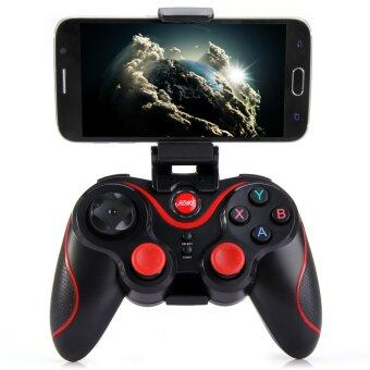 Gen Game S5 Bluetooth Wireless Game Controller Gamepad Joystick Android/IOS with PHONE HOLDER (Black)