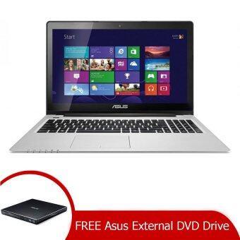 "(Genuine)ASUS Vivobook Touch S300CA-C1050H 13.3"" Notebook Black + External DVD Drive"
