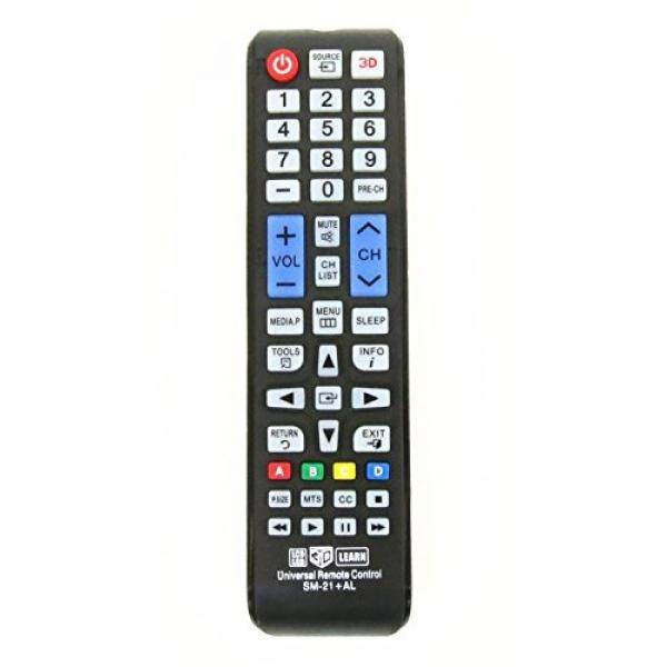 Gvirtue GSM-21+AL Samsung Universal Remote Control for Almost All Samsung Brand LCD LED HD Smart TV, AA59-00666A BN59-01178W BN59-01199F AA59-00638A AA59-00637A AA59-00594A AA59-00600A AA59-00582A - intl