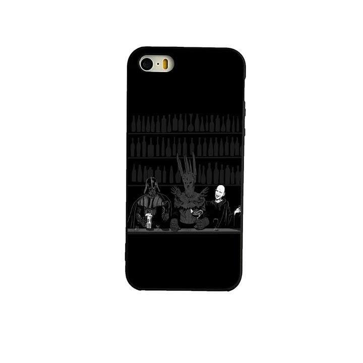 Harry Potter Lord dari The Cincin Bintang Wars Darth Vader Darth Vader Kasus Telepon Sampul Belakang untuk iPhone 5 S SE-Internasional