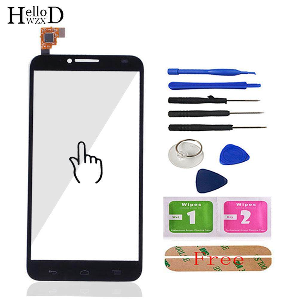 HelloWZXD 5.0 A+++ Front High For Alcatel One Touch Idol 2 6037 OT6037 6037Y Touch Glass Screen Digitizer Panel Sensor Flex Cable Adhesive - intl