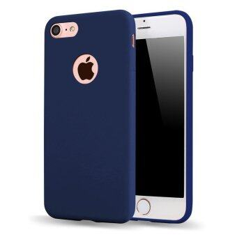 HOECOGE Luxury TPU Silicone Protective Cover For iphone 7 PlusSolid color Mobile Phone Cases For Apple iphone 7 Plus Matte shellFor iphone7 Plus
