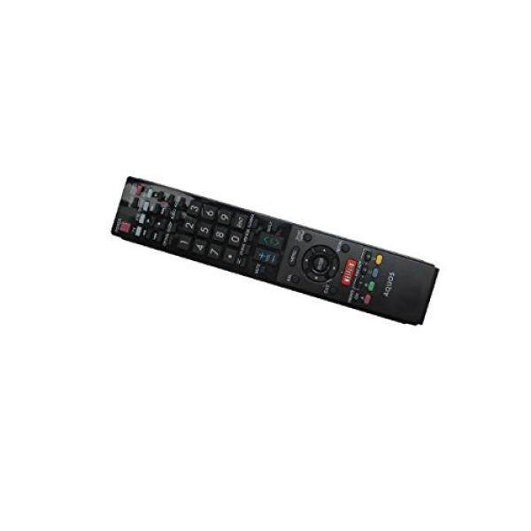 Hotsmtbang Replacement Remote Control For Sharp LC-70LE733U LC-80LE632U LC-60LE835U LC-52LE835 LC-52LE835U Samrt 3D AQUOS LCD LED HDTV TV - intl