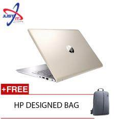 HP PAVILION 15-CK063TX I5-8250U 4GD4 1TB NV MX150 2GB WIN10H (GOLD) FREE HP DESIGNED BACKPACK Malaysia