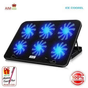 ICE COOREL A9 Notebook / Laptop Cooler Pad (6*6cm fan)