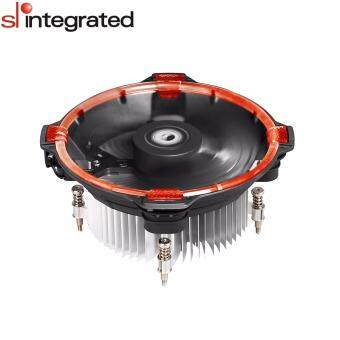 ID-Cooling DK-03 Halo Unique Circular LED Lighting CPU Cooler For Intel - Red