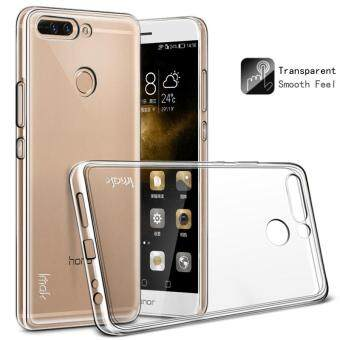 IMAK TPU Protective Case with Anti-explosion Screen Film for HuaweiHonor 8 Pro / Honor V9 - Transparent