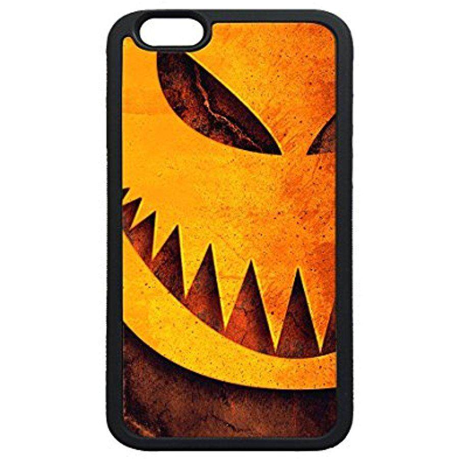 iPhone 5s SE Case,Halloween Pumpkin Sharp Teeth Illustration TPU Soft Black Rubber Bumper Protective Case for iPhone 5 5S SE - intl
