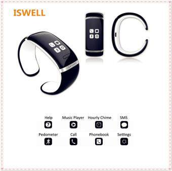 ISWELL L12S Red Bluetooth Smart OLED Touch Screen BraceletWristwatch Digital Watch for IOS iPhone Samsung HTC Android SmartPhones