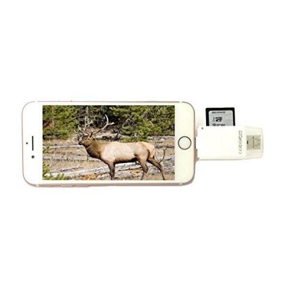 Juslink Jejak dan Permainan Kamera Viewer untuk iPhone/Android/Samsung, iPad, Mikro Sd, sd Kartu Pembaca untuk iPhone/USB/Android-Internasional